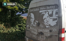 """Một cách tri ân """"rất khác"""" đến từ fan hâm mộ của Stephen Hawking"""