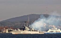 Vừa tuyên bố đáp trả Mỹ nếu dám tấn công tên lửa, Nga lập tức điều tàu săn ngầm tới Syria