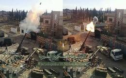 """Siêu cối """"cổ lỗ sĩ"""" M-240 nhả đạn tại Syria: Phiến quân vẫn chết như ngả rạ!"""