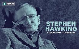 """Là """"người khổng lồ"""" của vũ trụ học nhưng Stephen Hawking không có giải Nobel, đây là lý do"""
