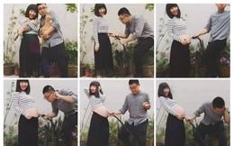 Chỉ với 9 bức ảnh, cặp vợ chồng trẻ đã kể hành trình mang thai - sinh con theo cách chẳng giống ai