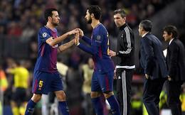 Barca phải cẩn thận với chấn thương của Busquets