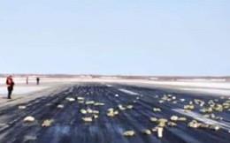 Hơn 3 tấn vàng thỏi trị giá gần nửa tỷ USD rơi từ máy bay chở hàng
