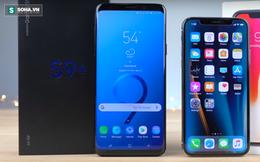 Thực hiện test nhanh tốc độ chạy của Galaxy S9 Plus và iPhone X