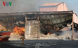 Cháy lớn tại Khu công nghiệp Biên Hòa 2