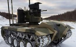 Nga hoàn thành thử nghiệm robot chiến đấu Uran-9 mới