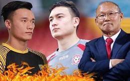 Văn Lâm - Tiến Dũng: Cuộc đua kỳ thú và cơn đau đầu dễ chịu của thầy Park