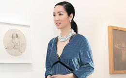 Giáng My, Hồng Nhung khoe vẻ gợi cảm khi đi xem thời trang