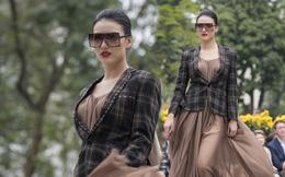 Hồng Quế sải bước tự tin diễn thời trang