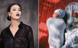 Ở ẩn một thời gian, Nguyễn Hợp Next Top đã bí mật sinh con?