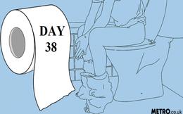 Nhịn đại tiện liên tiếp 38 ngày vì sợ bị phát hiện giấu ma túy trong cơ thể