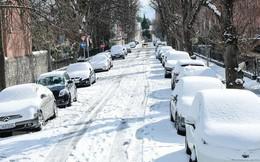 Cảnh báo nguy cơ bão tuyết tiếp tục tại các nước châu Âu