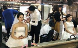 """Đằng sau câu chuyện đi chụp ảnh cưới chồng đích thân trang điểm cho vợ khiến toàn MXH bị """"đốn tim"""""""
