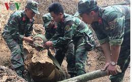 Phát hiện và hủy nổ quả bom nặng hơn 300kg ở Điện Biên