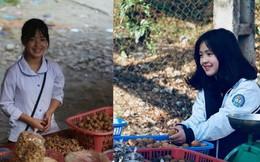 """Ảnh hồi chưa biết ăn diện của cô gái Hà Giang bán hạt óc chó khiến dân mạng """"xin link"""""""