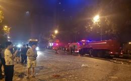 Nghệ An: Tòa nhà 2 tầng nổ kinh hoàng trong đêm