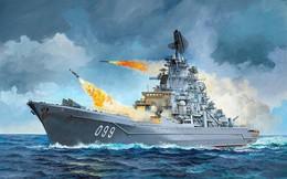 """Tuần dương hạm Kirov Nga """"đấu đầu"""" với Ticonderoga Mỹ: Cái kết đầy bất ngờ?"""