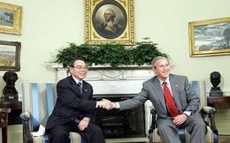 Dấu ấn ngoại giao của cố Thủ tướng Phan Văn Khải: Chuyến công du Mỹ và cái bắt tay lịch sử