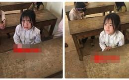 Cô bé dân tộc Dao trong lớp học khiến dân mạng chú ý vì quá dễ thương