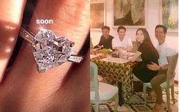 Hà Hồ chia sẻ nhẫn kim cương, đám cưới với Kim Lý sẽ không còn xa?