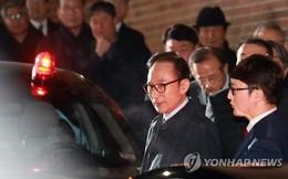 """""""Đêm trắng"""" đầu tiên của cựu Tổng thống Hàn Quốc Lee Myung-bak tại nhà giam"""