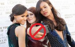 """NÓNG: Liên hoan phim Cannes chính thức cấm sao chụp ảnh """"tự sướng"""" trên thảm đỏ"""
