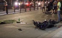 Người cha gào khóc bên thi thể con trai gặp tai nạn
