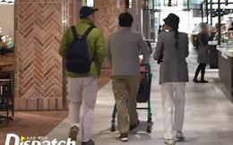 Kim Min Hee hẹn hò đạo diễn U60 đầu bạc trắng, bố ruột tóc xanh đi kế bên