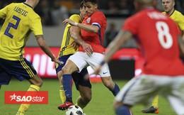 Cầu thủ Chile và Thụy Điển suýt choảng nhau vì Alexis Sanchez