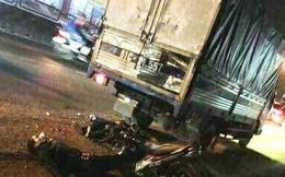 Tông đuôi xe tải đậu bên đường, 2 người tử vong tại chỗ