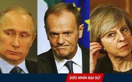 """Nhân vụ đầu độc cựu điệp viên Nga, Anh - EU tiến hành sách lược """"gào to và thổi phồng"""""""