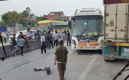 Tai nạn liên hoàn trên quốc lộ 1A, 2 người tử vong