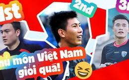 Sự thật là: thủ môn Việt Nam bắt bóng quá hay, Bùi Tiến Dũng chỉ đứng thứ 3 mà thôi!