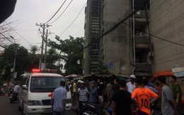 Người đàn ông leo qua lan can tầng 4 nhảy xuống đất tử vong ở Sài Gòn