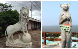 """Những bức tượng ngộ nghĩnh từng khiến dân mạng """"chao đảo"""""""