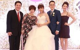 Vợ chồng Chí Trung rạng ngời hạnh phúc trong ngày cưới của con trai út