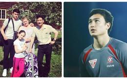 """Hình ảnh bên gia đình của Văn Lâm - thủ thành điển trai đang """"đốn tim"""" hàng loạt NHM"""