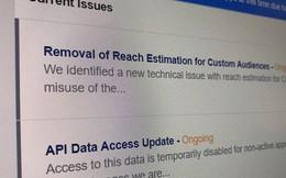 Facebook đột ngột dừng cấp API ở Việt Nam, dân bán hàng Online khóc nghẹn