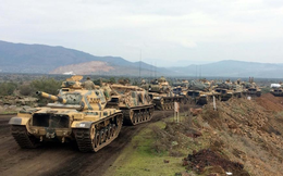 """Quân Thổ Nhĩ Kỳ """"thế như chẻ tre"""" giữa lệnh ngừng bắn: Phe thân Assad vô hiệu hoàn toàn"""