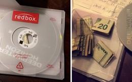 Đi thuê đĩa DVD, người phụ nữ bất ngờ phát hiện lá thư bí ẩn và thứ này giấu bên trong vỏ hộp