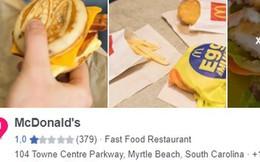 """Sau bê bối đuổi khách, McDonald's nhận """"cơn mưa"""" gạch đá từ netizen Việt Nam, có người còn tranh thủ """"phẫn nộ"""" để bán sim"""