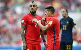 """Arturo Vidal: Độc chiêu """"nhất tiễn hạ song điêu"""" của Man United"""