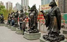 Cùng chung số phận là tượng 12 con giáp, những bức tượng này lại được ngợi khen vì thần thái xuất sắc!