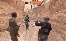 """Kinh hoàng """"bẫy"""" chống tăng của phe thánh chiến tử thủ Đông Ghouta"""