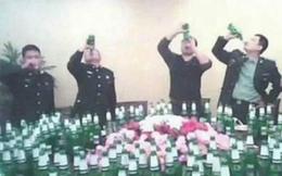 Hơn 20 quan chức Trung Quốc chết trên bàn nhậu