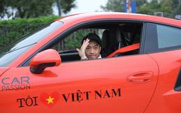 Cường Đô La dẫn đầu đoàn thẳng tiến Lào Cai, bắt đầu hành trình siêu xe Car & Passion 2018