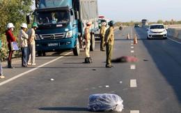Nam thanh niên tông vào đuôi xe tải tử vong trên đường vào lại Sài Gòn