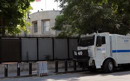 Bị đe dọa an ninh, Đại sứ quán Mỹ tại Thổ Nhĩ Kỳ tạm đóng cửa