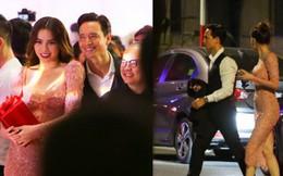 Clip: Rời sự kiện, Hà Hồ lái xe chở Kim Lý vượt đèn đỏ lúc nửa đêm