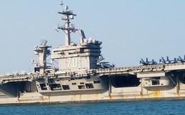 [ẢNH] Cận cảnh tàu sân bay USS Carl Vinson tại Đà Nẵng